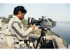 1ST CAMERA ASSISTANT MONIC KUMAR ON THE GANGES
