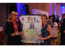 GAYLE FERRARO WITH SUPPORTER HEIDI CLINGEN AT SALT CONFERENCE, LAS VEGAS