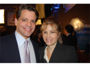 GAYLE FERRARO AND  ANTHONY SCARAMUCCI AT SALT CONFERENCE, LAS VEGAS