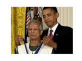 PRESIDENT OBAMA AWARDS THE PRESIDENTIAL MEDAL OF FREEDOM TO MUHAMMAD YUNUS